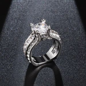 Diamond Engagement Wedding Anniversary Bridal Ring